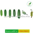 Artificial banana tree leaf&fruits