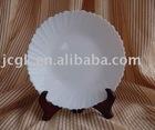 White Round Plate
