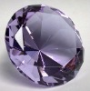 2012 Attractive Fancy Cut 10*9mm Crystal Glass Gems