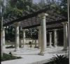 column stone gazebo