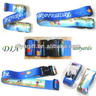 [DIA]Professional custom-made colorful travel luggage belt/luggage accessory