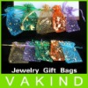 50 pcs Organza Jewelry Candy Pendent Mini Gift Pouch Bags