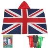 Polyester Cape Flag In England Flag Design