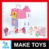 hot sales doll house toys villa with wordpad & carport