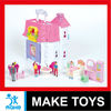 hot sales doll house toys villa with wordpad & carport