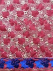 Apparel Embroidered Fabrics