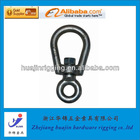Small swivel eye bolt rigging