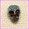 Bling Bling Shamballa Skull Crystal Beads In Bulk ACSB-58