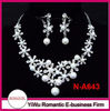 hot sale seed pearls necklace set