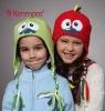 fashion winter kids polar fleece earflap beanie hat
