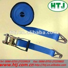 flat double D hook 3t tie down strap