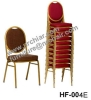 wholesale event rental metal banquet hall stacking padded chair