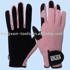 Woman Garden Latex Working Glove