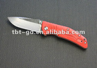 Good quality AUS-8 Folding Pocket Knife with Handle pocket knife