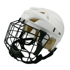 Custom Ice Hockey Helmet with EVA foam liner, ice ball helmet, white hockey helmet