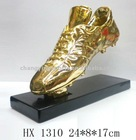 GOLD SHOES RESIN TROPHY AWARD/HX1310