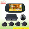 SW-70M-4 car video parking sensor system with back sensor and camera