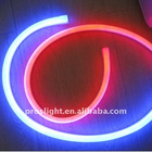 Blue led flex neon