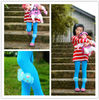 KL-5 Baby Fashion Stirrup Pants,Produced From Datang,Zhuji ,Shaoxing