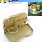 Multi-functional Back Folding tray Car Seat Cup Drink Holder Supporter beverage Frame