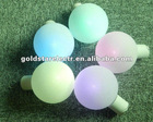 2012XMAS decorate christmas tree ball ornaments ,led tea ball light