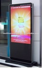 "55"" floor standing network advertising display"