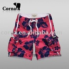 men casual printed lounge shorts