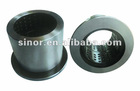 steel bucket bushing/ steel sleeve with edge