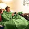 plain fleece tv blanket