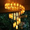 L179-87.38Handmade Resin Energy Saving Pendant Lamp