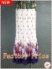 Women's printing chiffon maxi dress