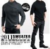 2012 news mens fashion long sleeve wool alpaca sweater