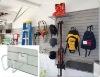 PVC foam wall panel grey, Plastic Slatwall, PVC Slat Wall, PVC Slatwall Board, Garage Storage Wall