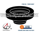 toilet bowl rubber ring gasket with flange or with horn or with sleeve