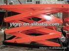 Stationary structure lifting platform for storage use