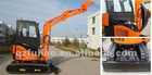2.8 Ton hydraulic excavator NT28U with YANMAR engine ce approved