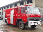 6m3 Dongfeng foam tanker fire fighting truck