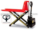 electric high lift scissor truck