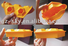 flexible silicone ice cube tray