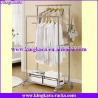 KingKara Steel Tube Chrome Cloth Drying Stand
