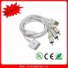 AV TV RCA USB Video Cable for iPhone ipad 2