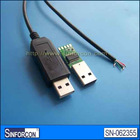FTDI USB RS232 cable, FT232RL USB RS232/TTL cable, 1.8m