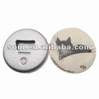 Button Promotional Tin Bottle Openers