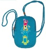 2013 Lastest Design Cute Printing Neoprene Camera Bag with String for Children