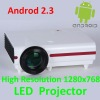 Professional Android LED Wifi RJ45 LCD Video Projector