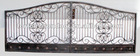 luxury wrought iron gate/door/fence/railing