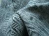 cheapest homespun Herringbone woolen fabric for men clothes