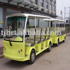 Electric Sightseeing Bus with One Coach