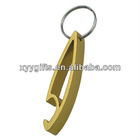 cute beer bottle opener keyring/keychain