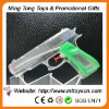 16.5cm plastic transparent plastic promotional water gun toy
